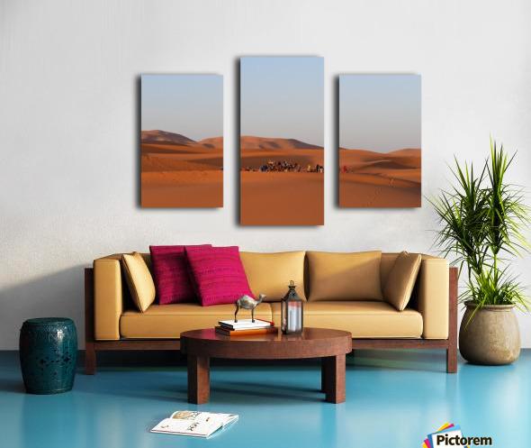 Merzouga sunrise Canvas print