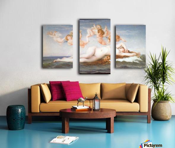 Birth of Venus by Cabanel Canvas print