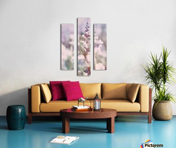 Soft Vintage Lupine Canvas print