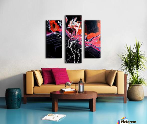 Hell garden Canvas print