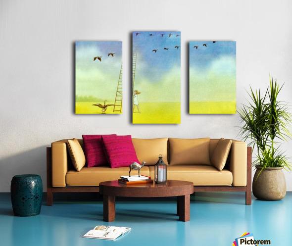 summer s end Canvas print