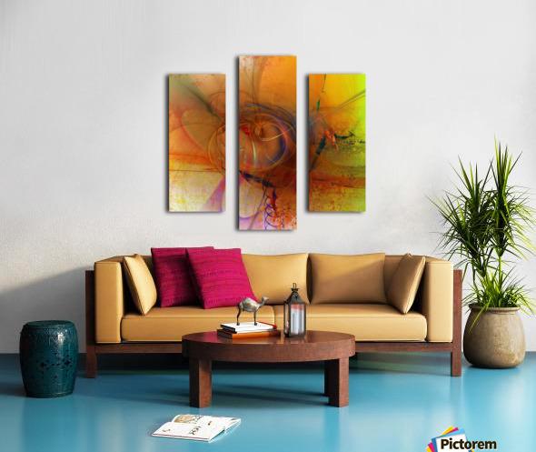 Angoiema Canvas print