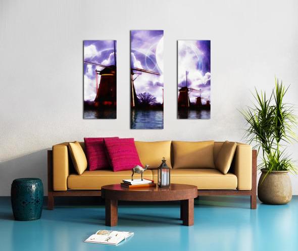 Windcatcher Canvas print