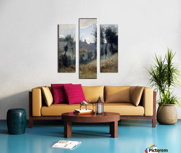 Canteleu Canvas print