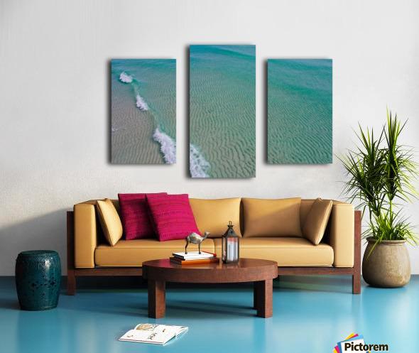 Clear Beach  Canvas print