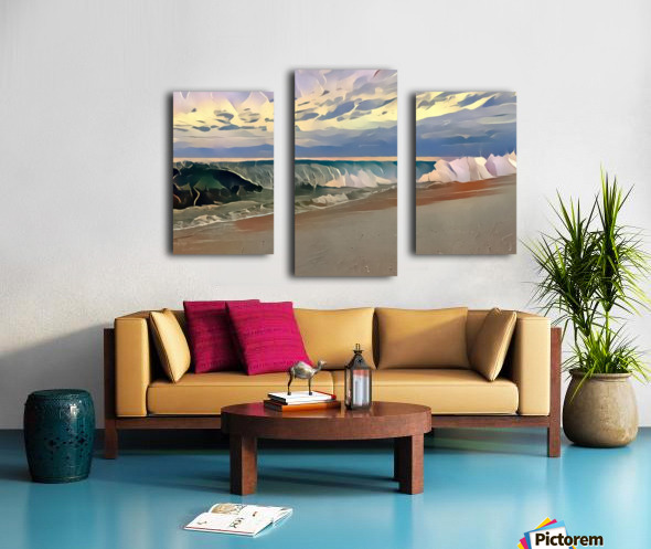 Off the lip Canvas print