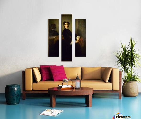 Portrait de Madame Charles Chaplin Canvas print