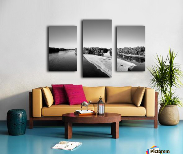 Dreamy Horizon Canvas print