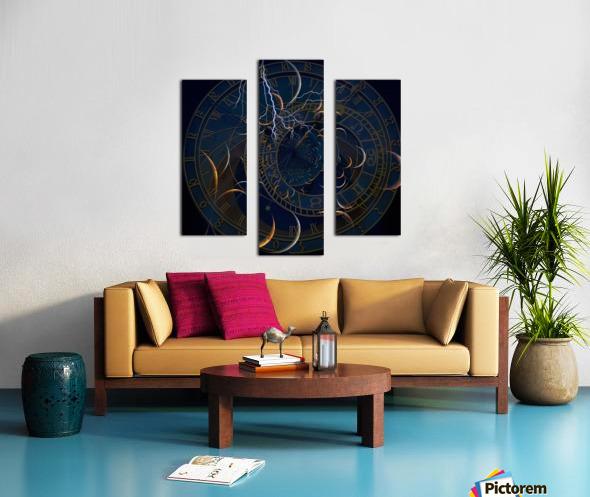 Zodiac Time Canvas print