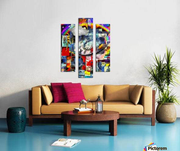 Elements of Human Consciousness Canvas print
