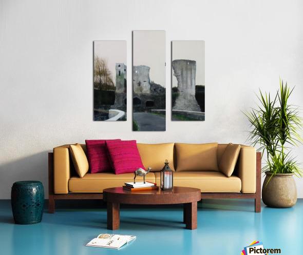 Mahee Castle Canvas print
