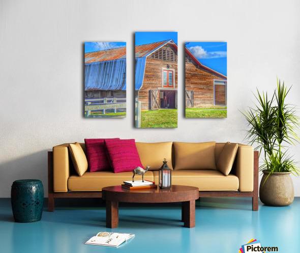 Barn Life..... Canvas print