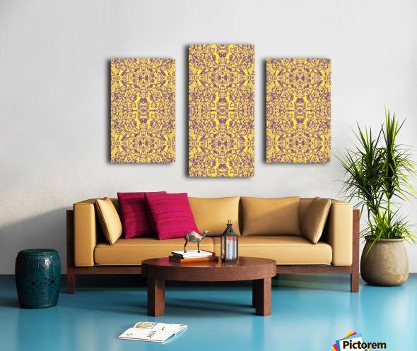 GOLDEN BEAR  Canvas print