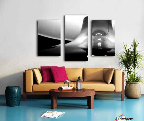 Here Alone Canvas print