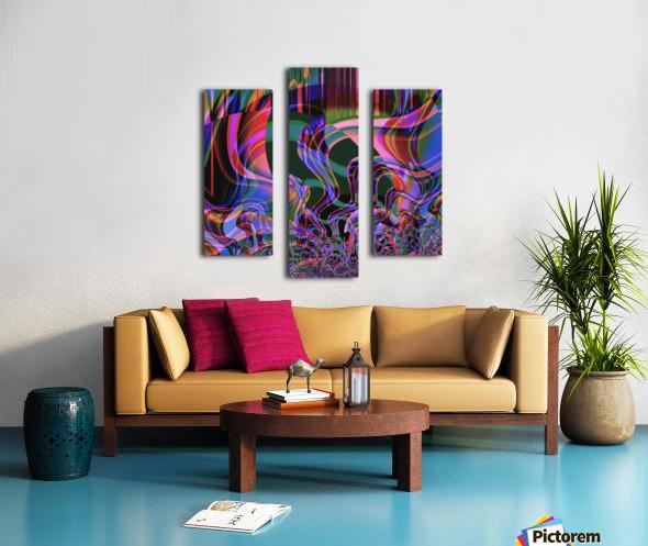 Aurora_Borealis Canvas print