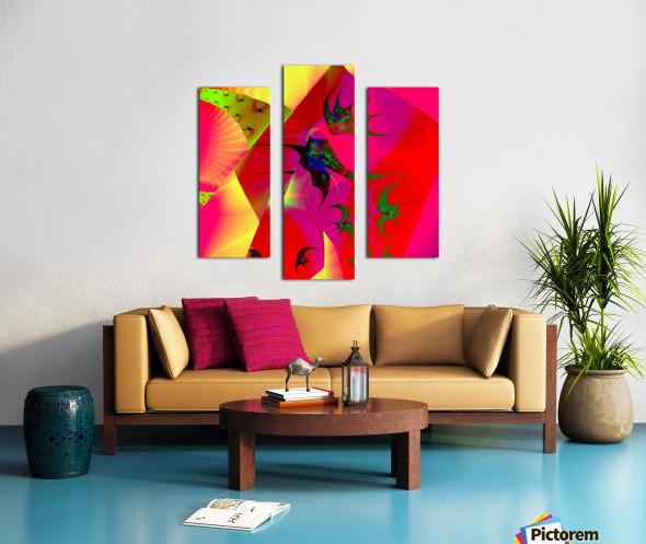 Sun_Flies Canvas print