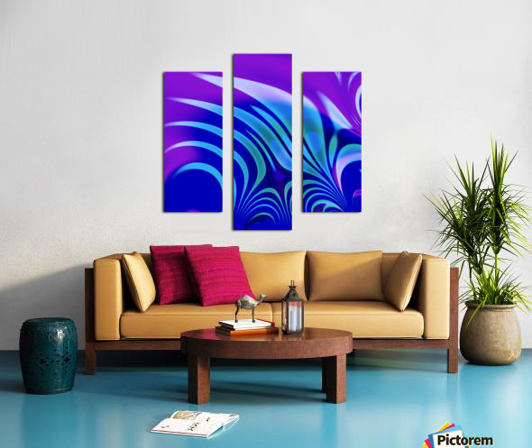 Enchanted_Swamp_Series Canvas print
