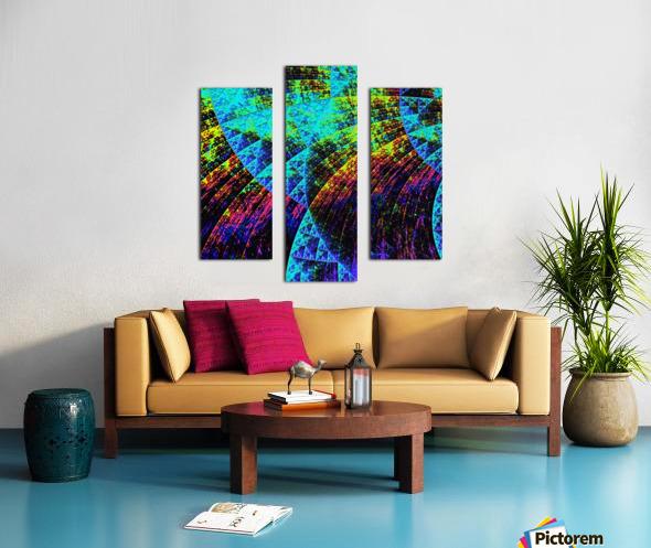 Mandala_a_la_Sierpinski Canvas print