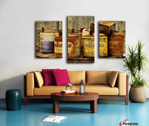 Rusting Canvas print