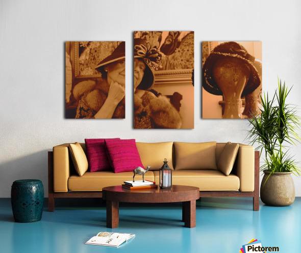 Ms Langone Canvas print