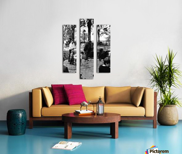 Tuning a New Generation Canvas print