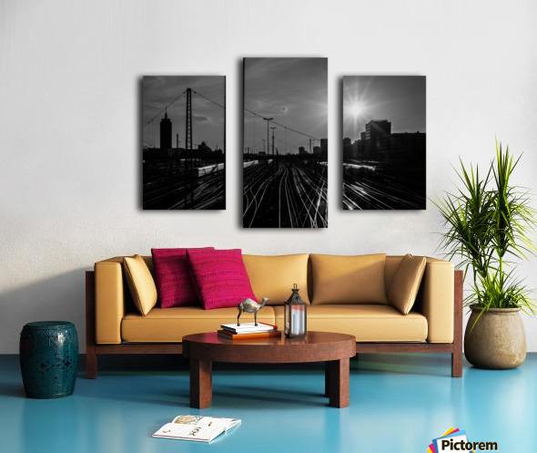 German Rails Canvas print