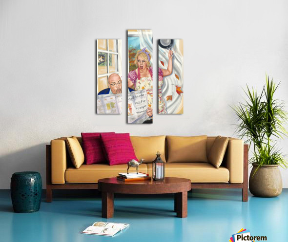 Fall for Younger Women Canvas print