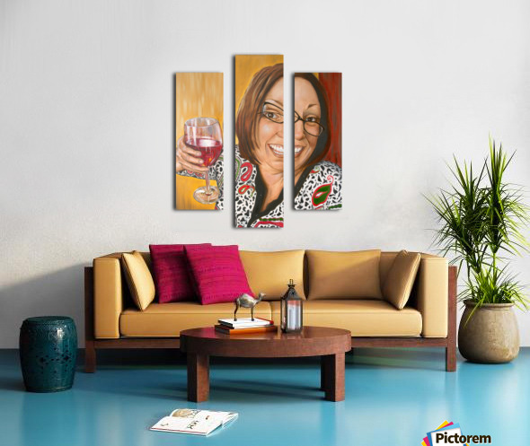 Auntie Bananas Canvas print