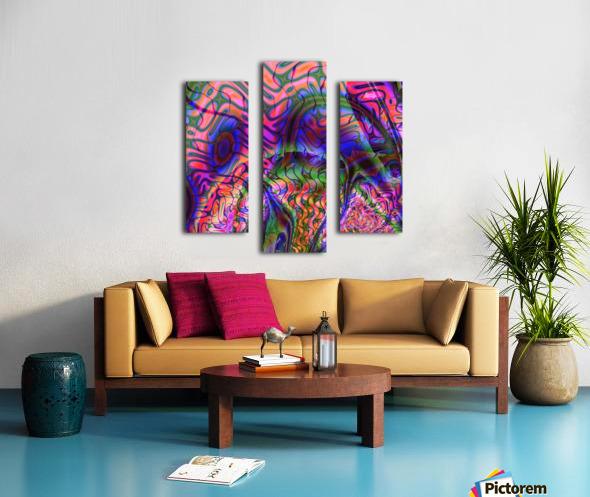 Acid_Jungle_Trip_9 Canvas print