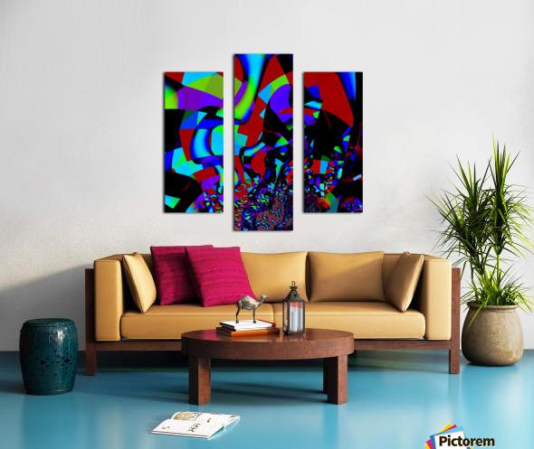 Jazz_Fusion_Series_1 Canvas print