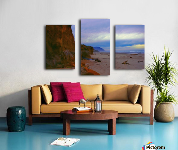 At the Coast Canvas print