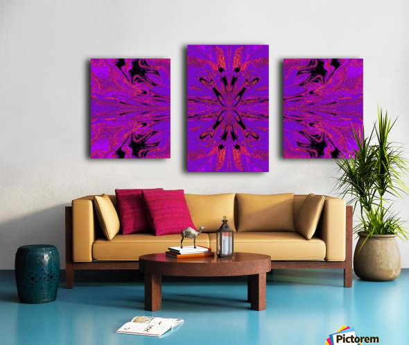 Abstract Butterfly 48 Canvas print