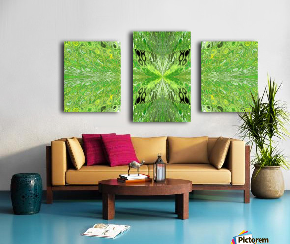 Butterfly in Crystal 70 Canvas print