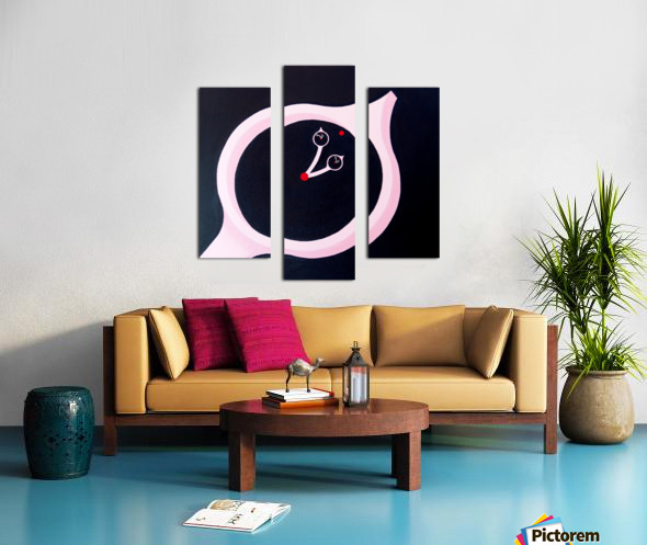 time and motion Impression sur toile