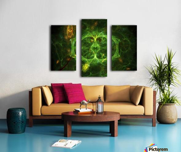 Biosecret e Canvas print