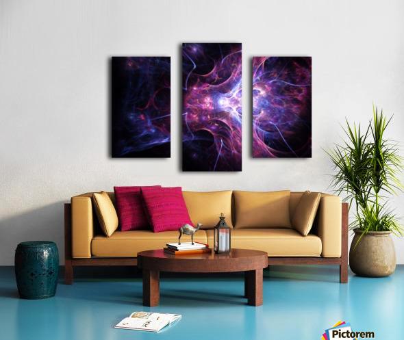 Exploration e Canvas print