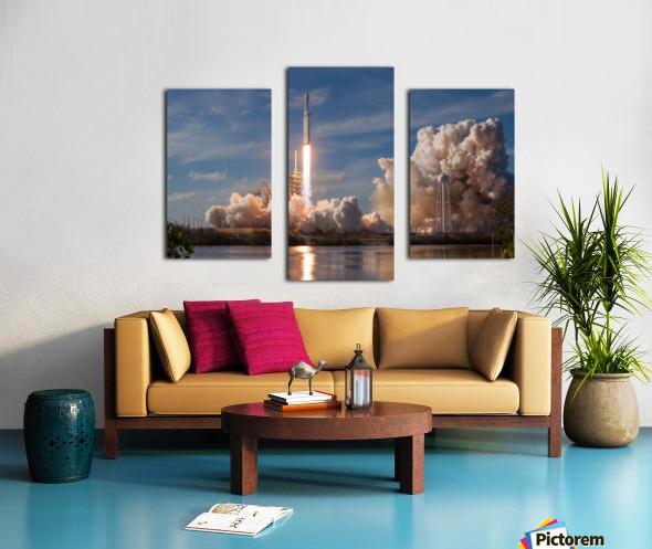 Falcon Heavy Demo Mission 020118 Canvas print