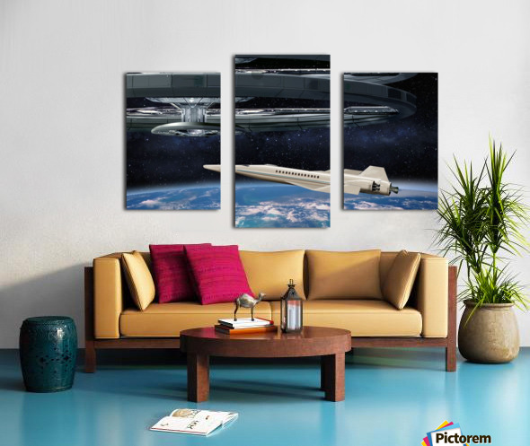 Shuttle104 Canvas print