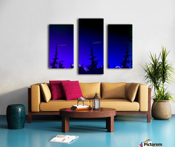 Noche_Azul Canvas print