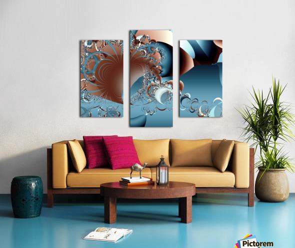 Gargantuan_Hatching Canvas print