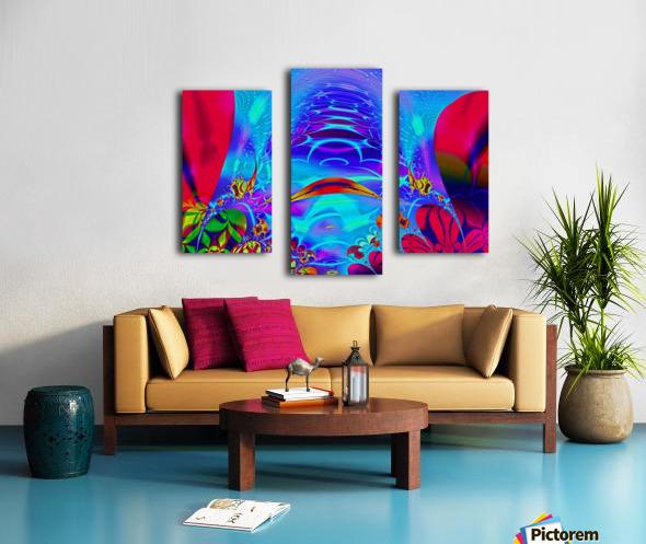 Sea_Bottom_3 Canvas print