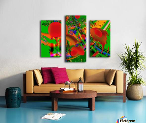 Tangerine_Island_7 Canvas print