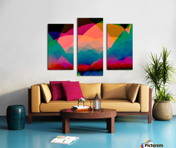 Mountain_View Canvas print