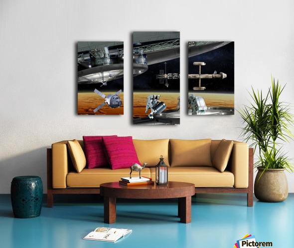 Mars Project 4 Canvas print