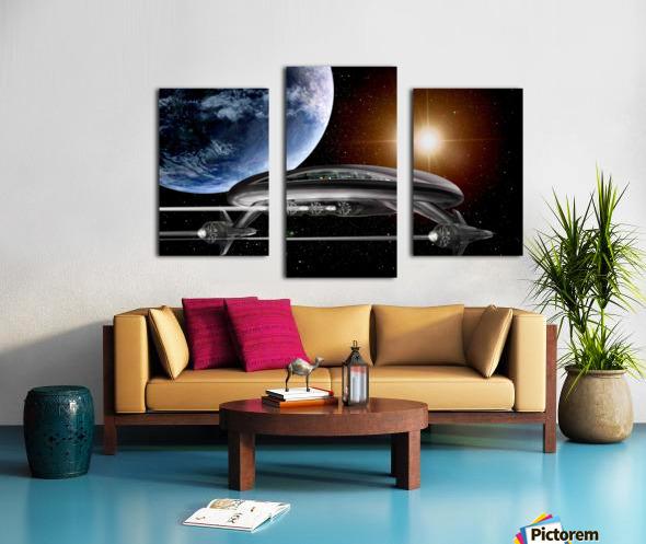 LIghtship Solaria Canvas print