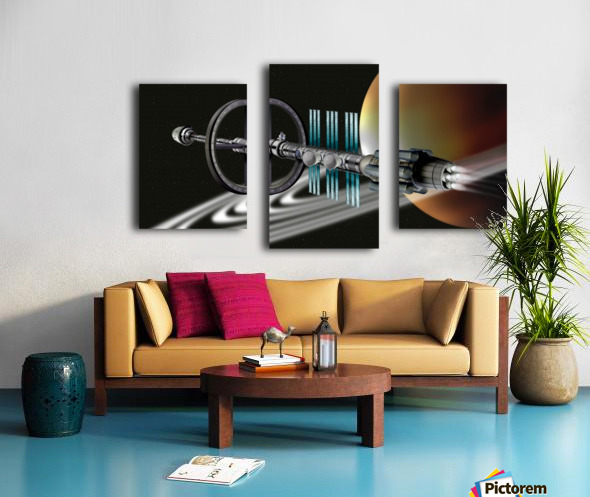 Starship Radial Alliance Canvas print