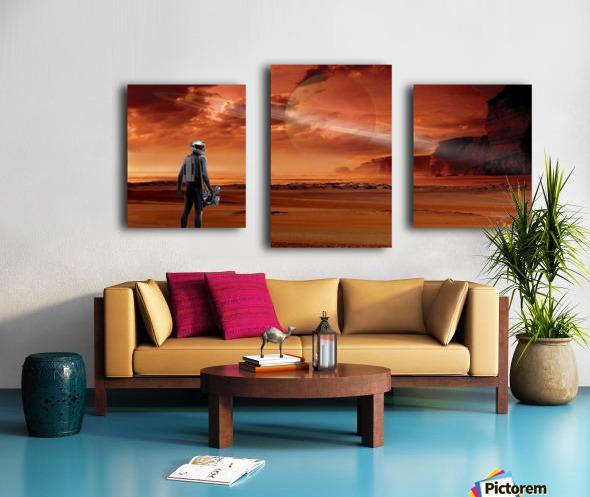 TItan Explorer Canvas print