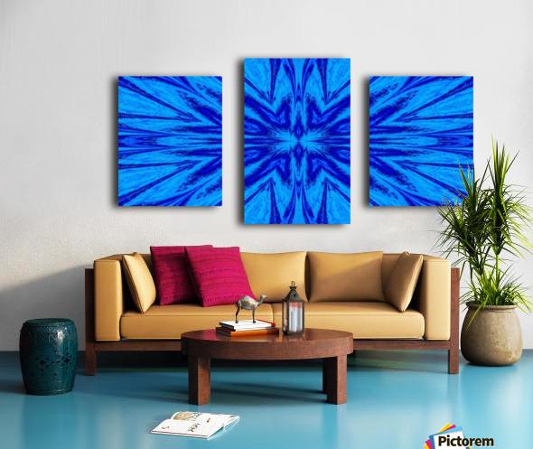 A Blue Wildflower 4 Canvas print