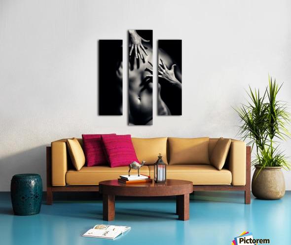 Nude woman fine art 10 Canvas print