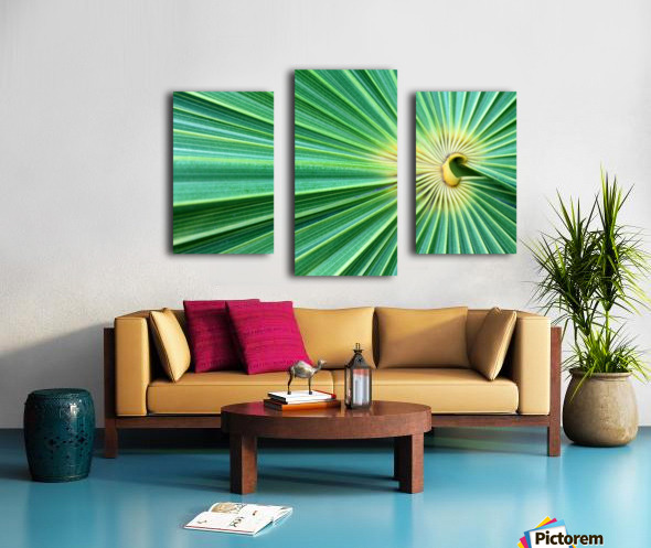 Spreading the Green Canvas print